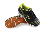 Diadora Cattura ID JR - Black / Flouro Yellow -Free Shipping