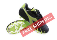 Diadora Pilone L MD PU JR - Black / Lime