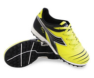 Diadora Cattura TF JR Turf - Fluo Yellow / Black - Free Shipping