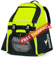 Diadora Squadra Backpack - Matchwinner Yellow