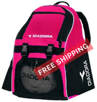 Diadora Squadra Backpack - Hot Pink