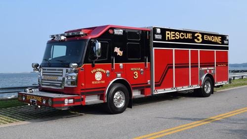 Solomons Volunteer Rescue Squad & Fire Department Rescue 3