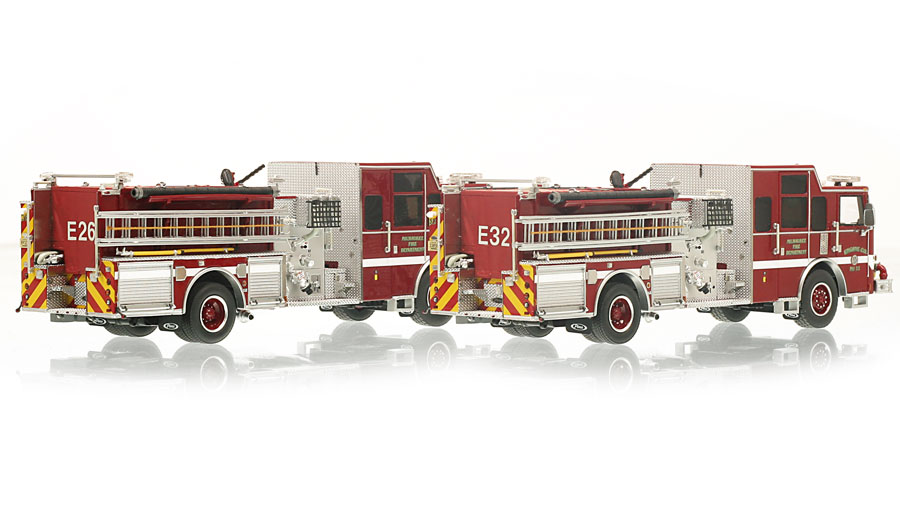 Milwaukee Fire Department Engines 26 & 32 now available to order.