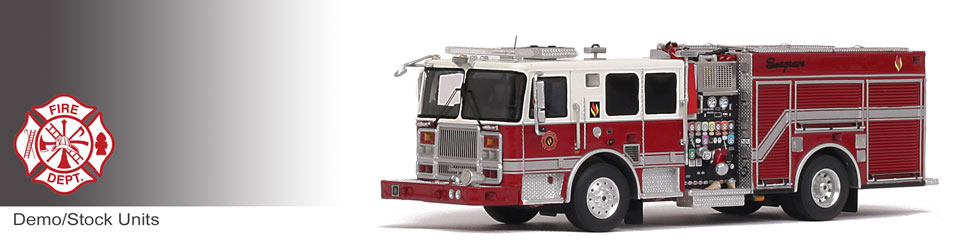 Shop museum grade Demo/Stock scale models including Seagrave Marauder II Engines!