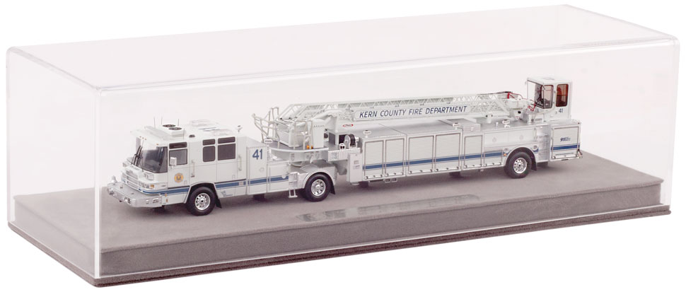 Kern County T41 includes a fully custom display case.