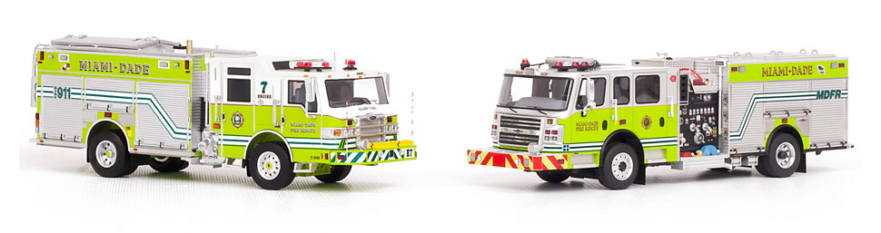 MDFR Pierce PUC 7 and Rosenbauer Engines