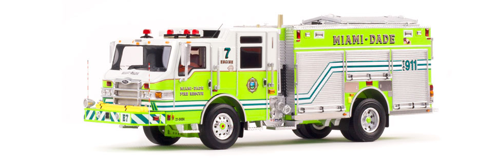 Miami-Dade Fire Rescue Pierce PUC Engine 7