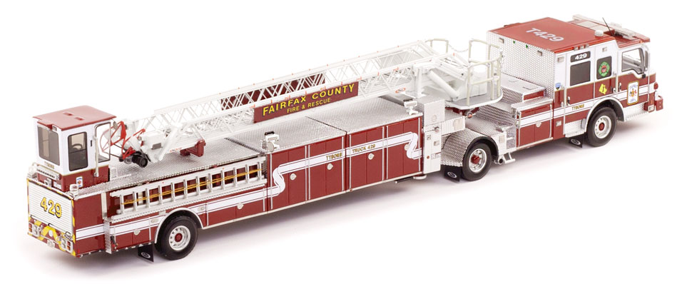 Fairfax County T429 features museum grade precision.