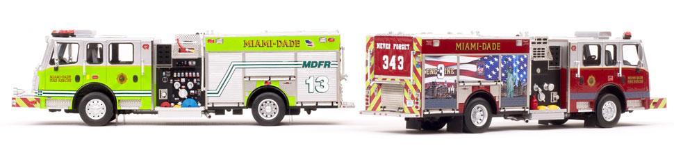 Miami-Dade Rosenbauer Commander Engines