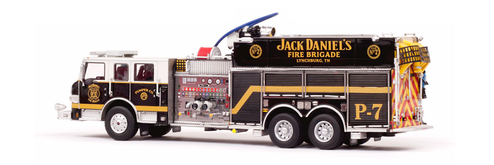 Jack Daniel's Fire Brigade P-7 Pumper Scale Model