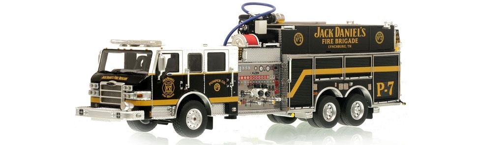 Jack Daniel's Fire Brigade P-7 Pumper Scale Model
