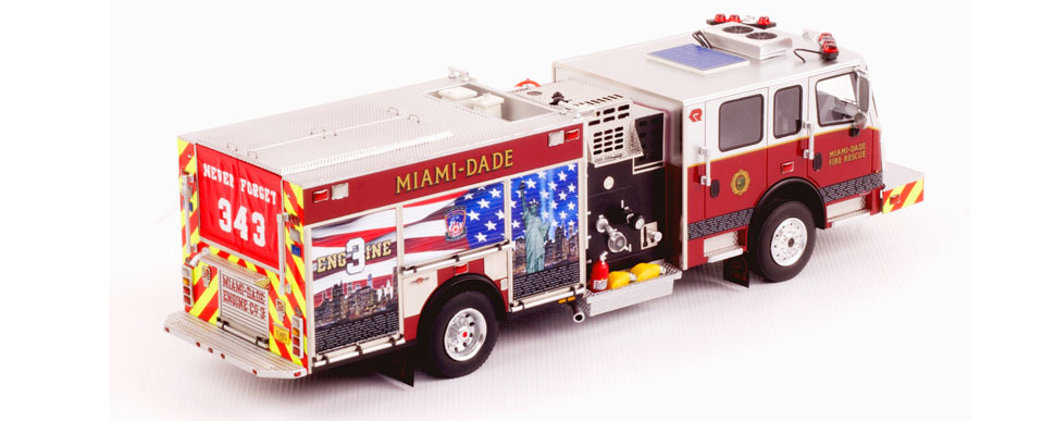 Order your Miami-Dade Engine 3 - 9.11 Tribute today!