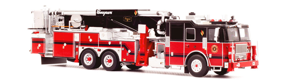 Seagrave 2016 Limited Edition Aerialscope is a museum grade replica.
