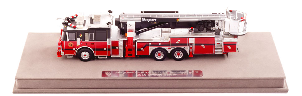Seagrave 2016 Limited Edition Aerialscope features over 500 hand-crafted parts.