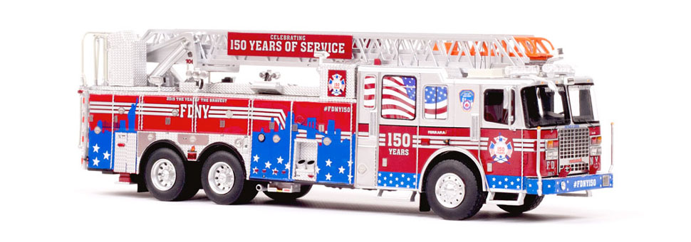 #FDNY150 celebrates FDNY's 150 years of service