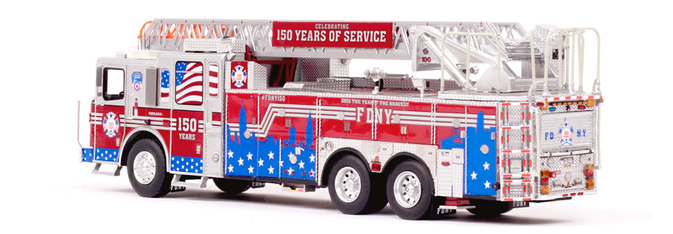 #FDNY150 production is limited to 600 units.