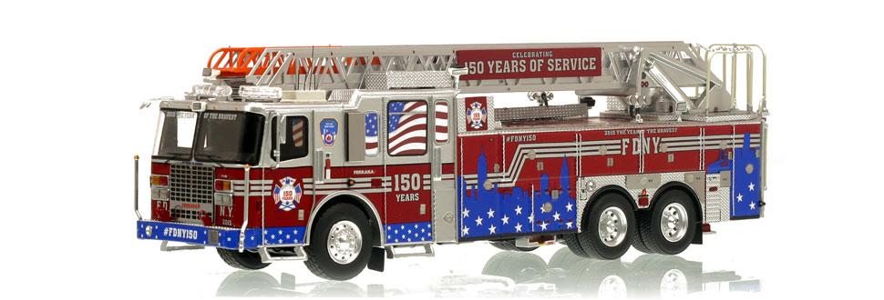 #FDNY150 celebrating 150 Years of FDNY Service