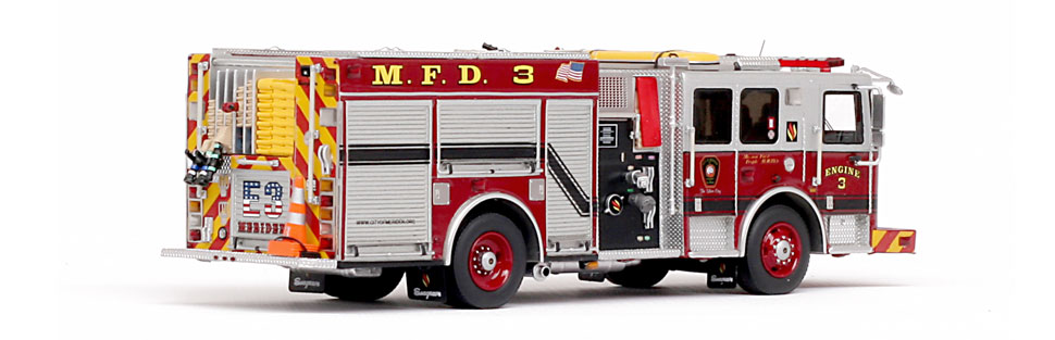 Meriden Engine 3 is designed for the discerning