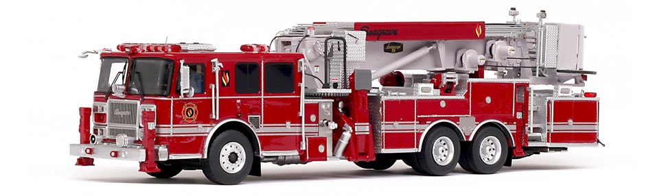Seagrave 2017 Limited Edition Aerialscope features over 500 hand-crafted parts.