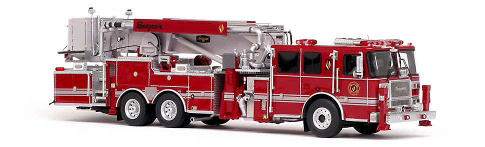 Seagrave 2017 Limited Edition Aerialscope features museum grade precision.