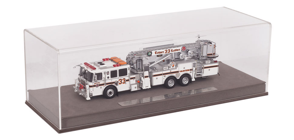 Kentland Tower 33 includes custom display case