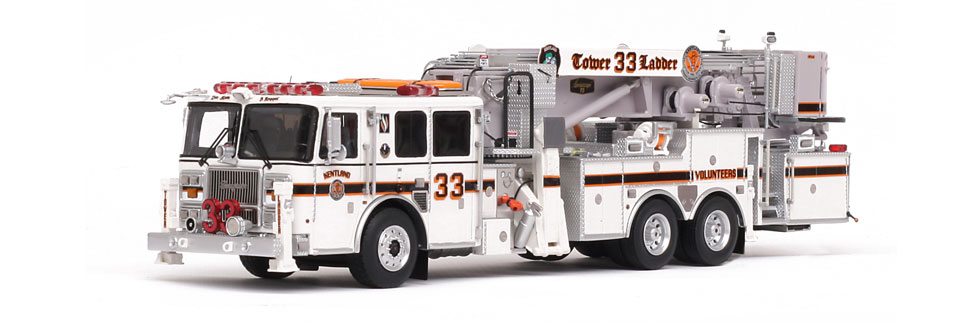 Kentland Tower 33 Seagrave 75' Aerialscope replica