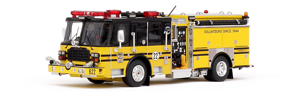Museum grade scale model of Ashburn Engine 622