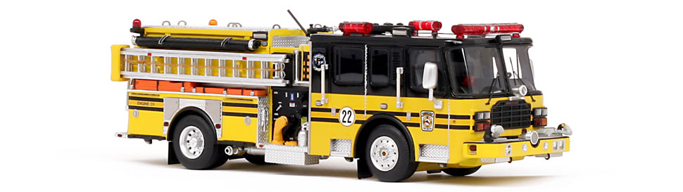 Ashburn Volunteer Fire-Rescue Department Engine 622