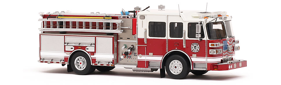 Countless hours of design and proofing are required to produce each Fire Replicas model.