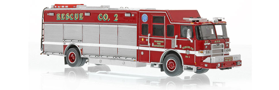 Rescue 2 features museum grade precision and accuracy.