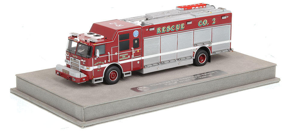 Rescue 2 includes a fully custom display case