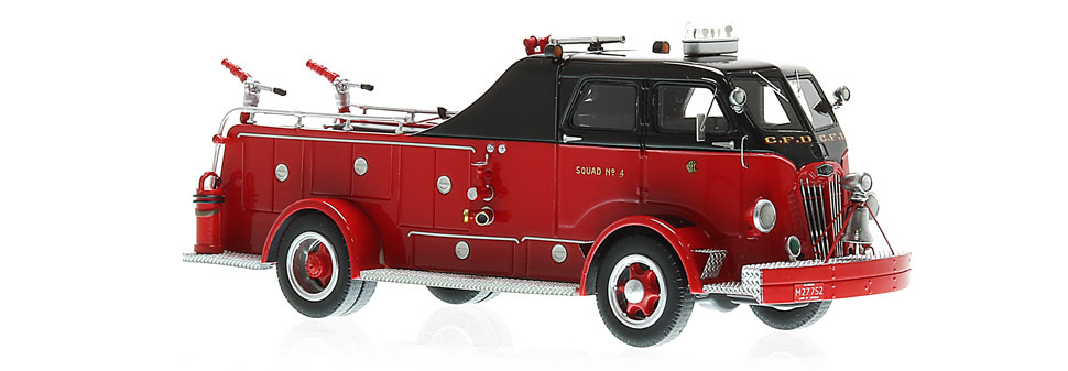 CFD Autocar Squad 4 features over 250 hand-crafted parts.