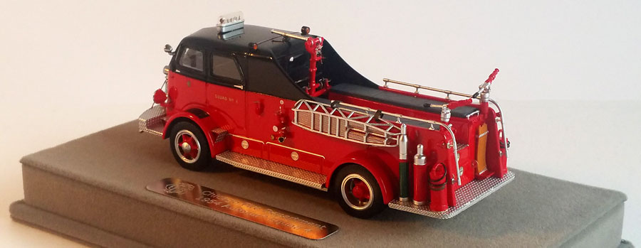 Squad 4 is limited to 300 units and also features rear water cannons and a stokes basket.
