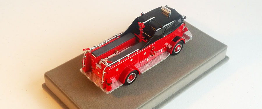 Order your Chicago Fire Department 1954 Autocar Squad 4 today!