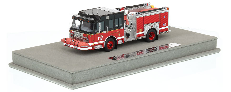 CFD Engine 117 includes a fully custom display case!