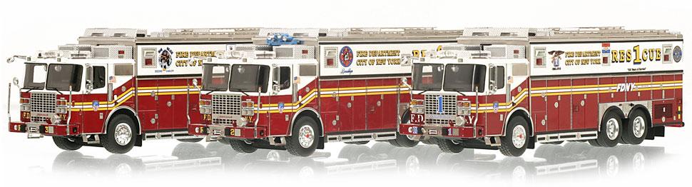 FDNY Rescue 1, 2 & 3