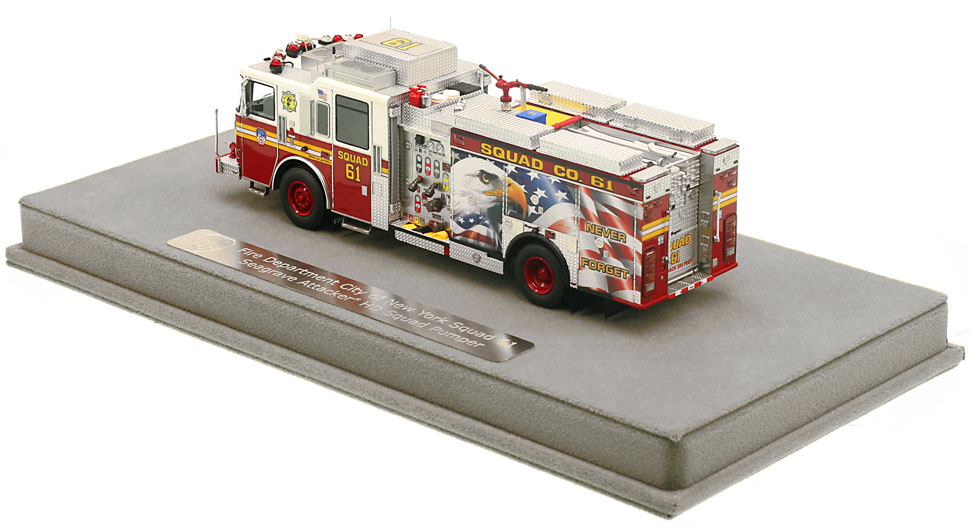 Order your FDNY Squad 61 scale model today!