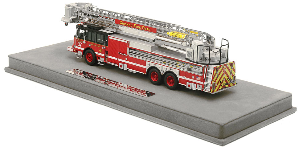 Order your Chicago Tower Ladder 37 today!