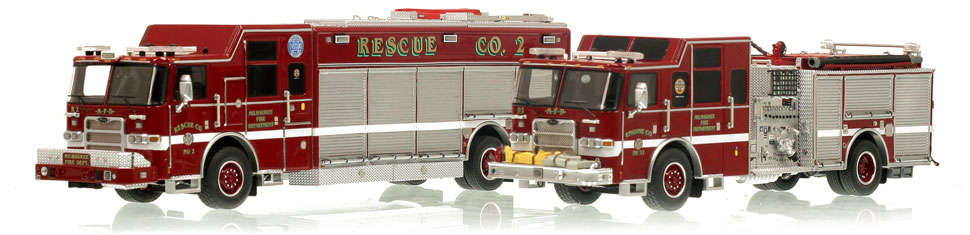 Midwester Muscle...Milwaukee's Engine 32 and Rescue 2.