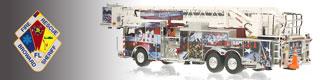 Broward County scale model fire trucks