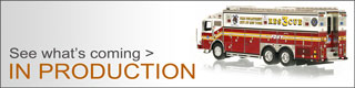 See all the in production Fire Replicas scale model fire trucks.