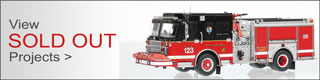 View all the sold out fire truck scale models.