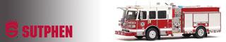 Shop Sutphen museum grade scale model fire trucks!