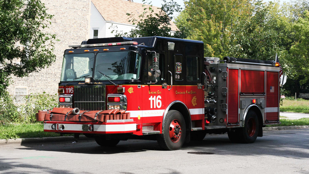 Chicago Fire Department's Engine 116