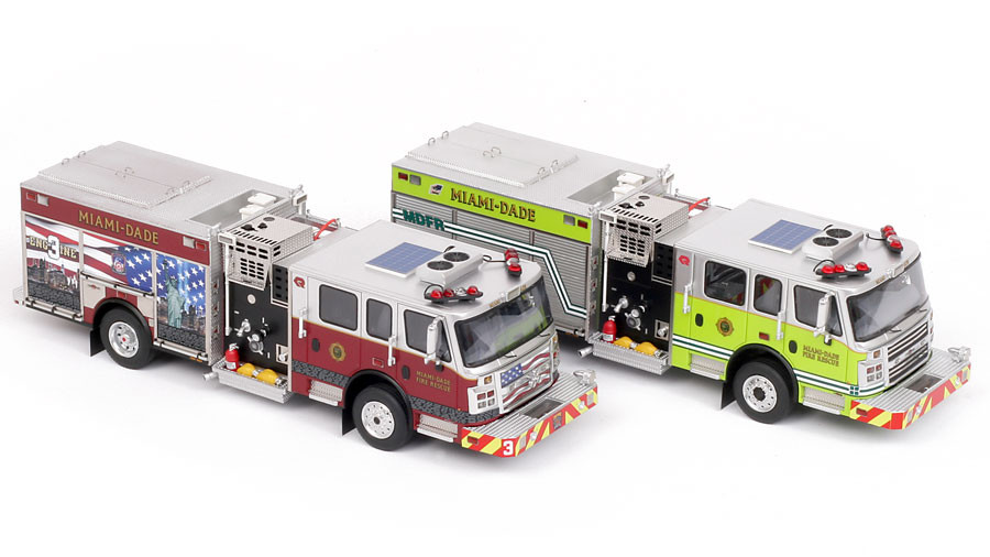MDFR Rosenbauer Engine 2-piece Set