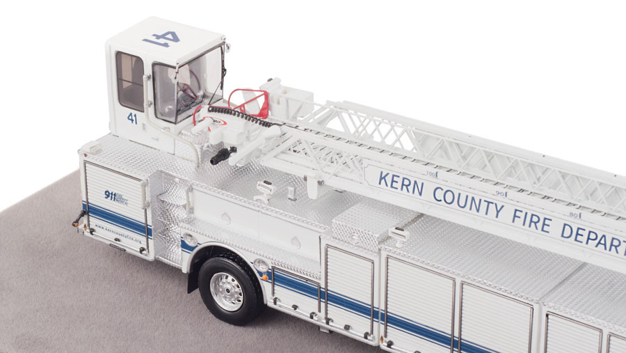 Kern County Fire Department Truck 41 Museum Grade Replica