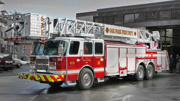 Oak Park Platform T631 Real Truck