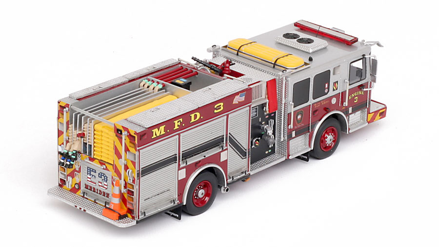 1:50 sclae Meriden Fire Department Engine 3 museum grade replica