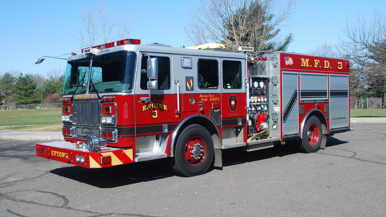 Meriden Fire Department Engine 3