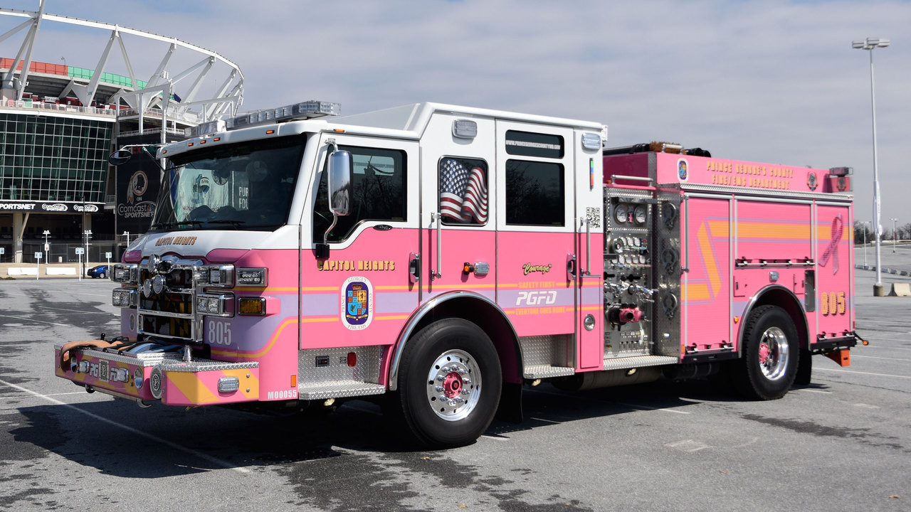 "Prince George's County Fire/EMS Department ""Courage"" E805"
